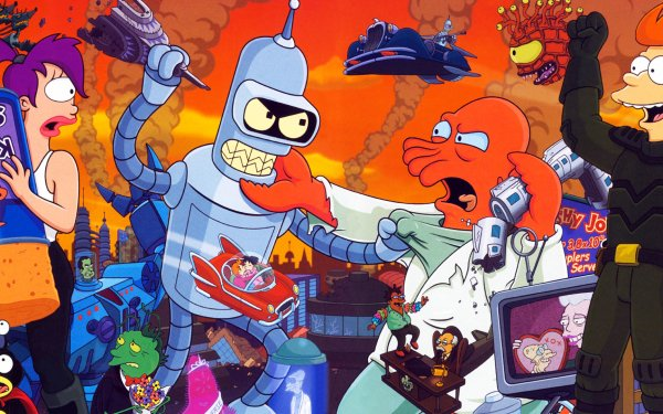 Video Game Futurama HD Wallpaper   Background Image