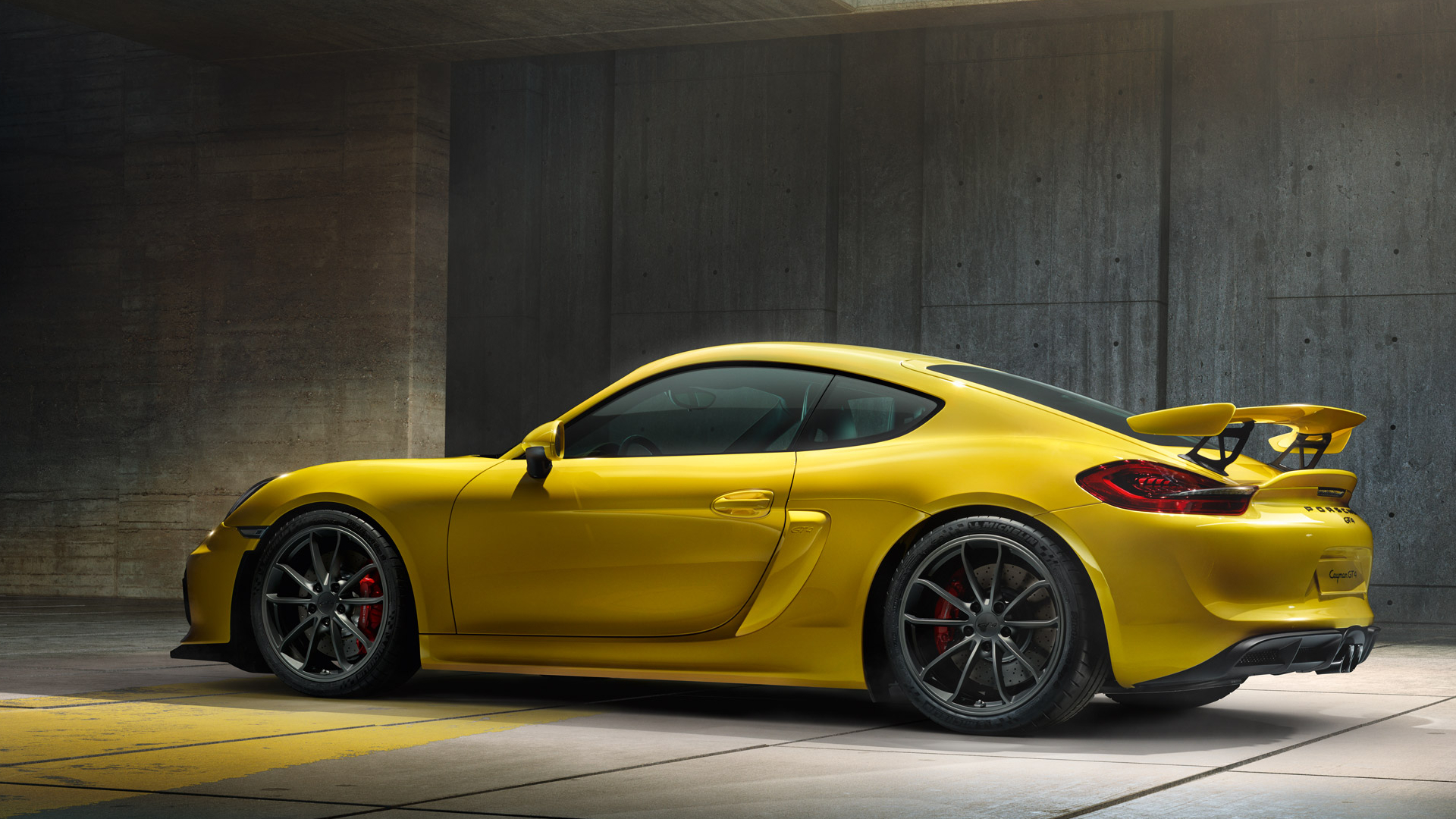 Porsche Cayman GT4 Full HD Wallpaper And Background Image