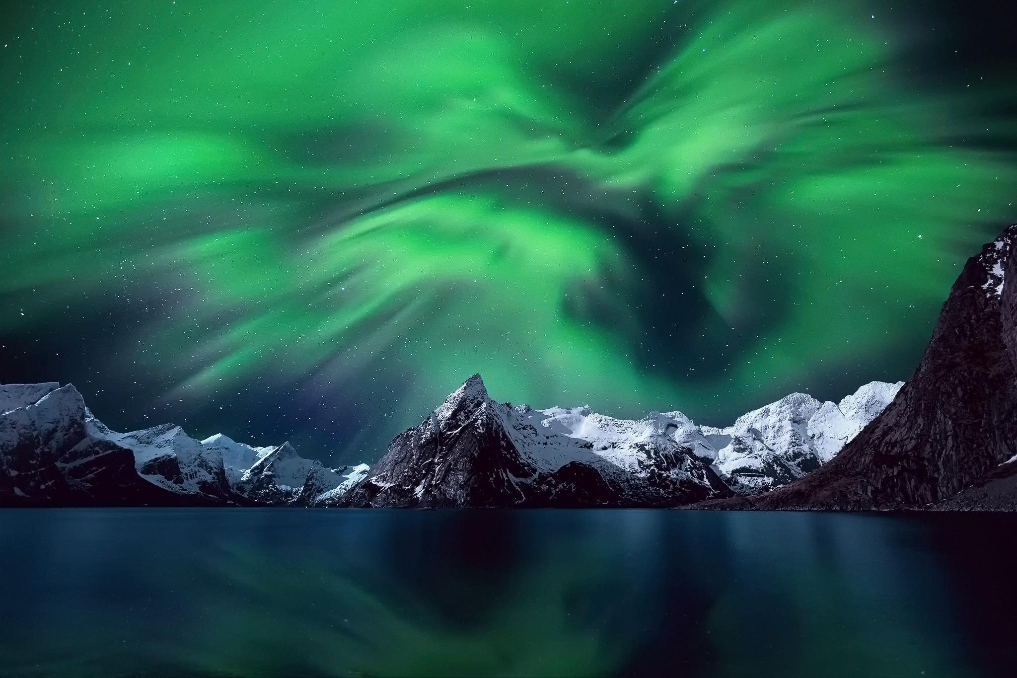 The aurora sfondi per pc 2048x1365 id 598518 for Sfondi desktop aurora boreale
