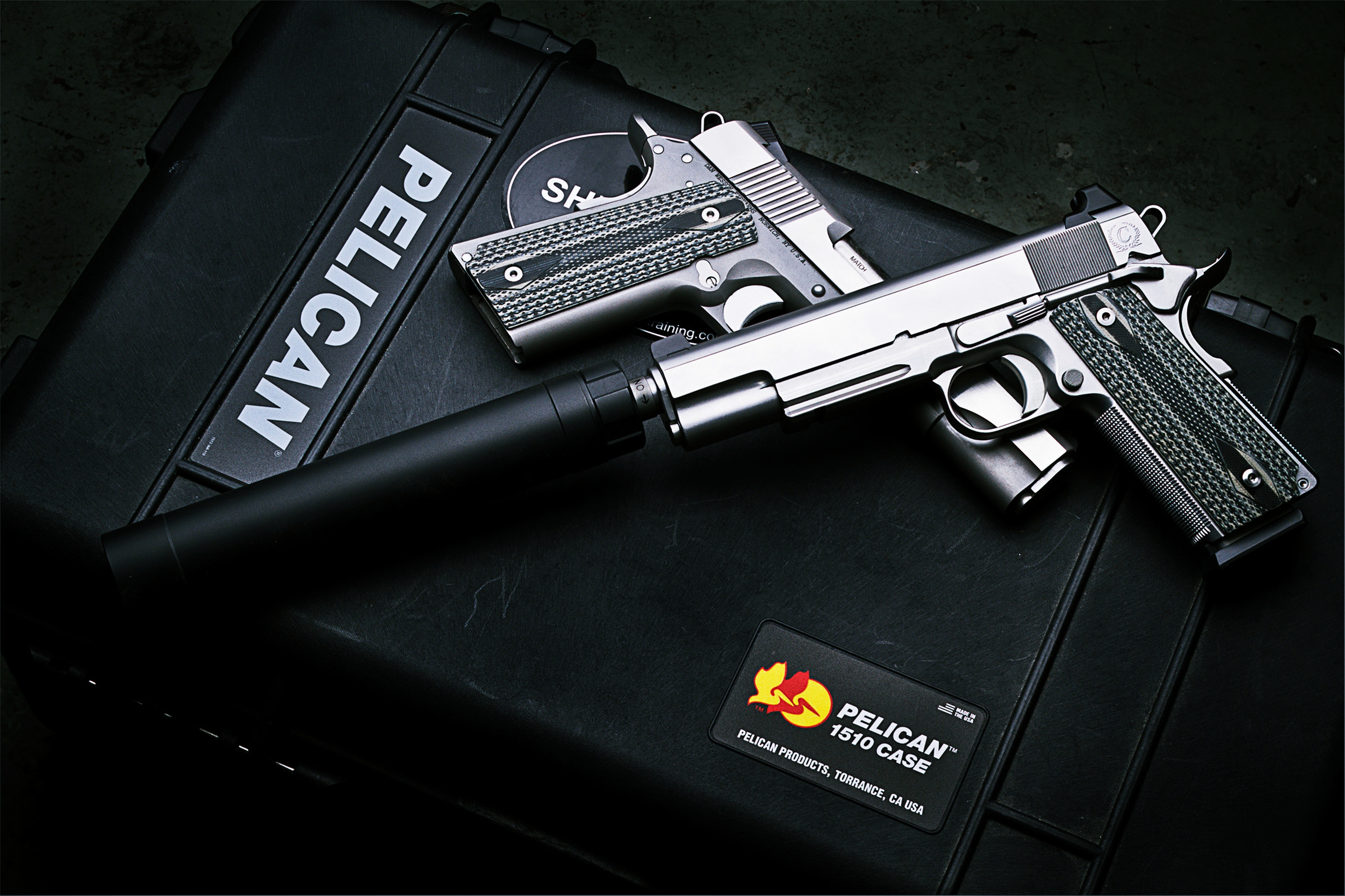 Dan Wesson 1911 4k Ultra HD Wallpaper And Background Image