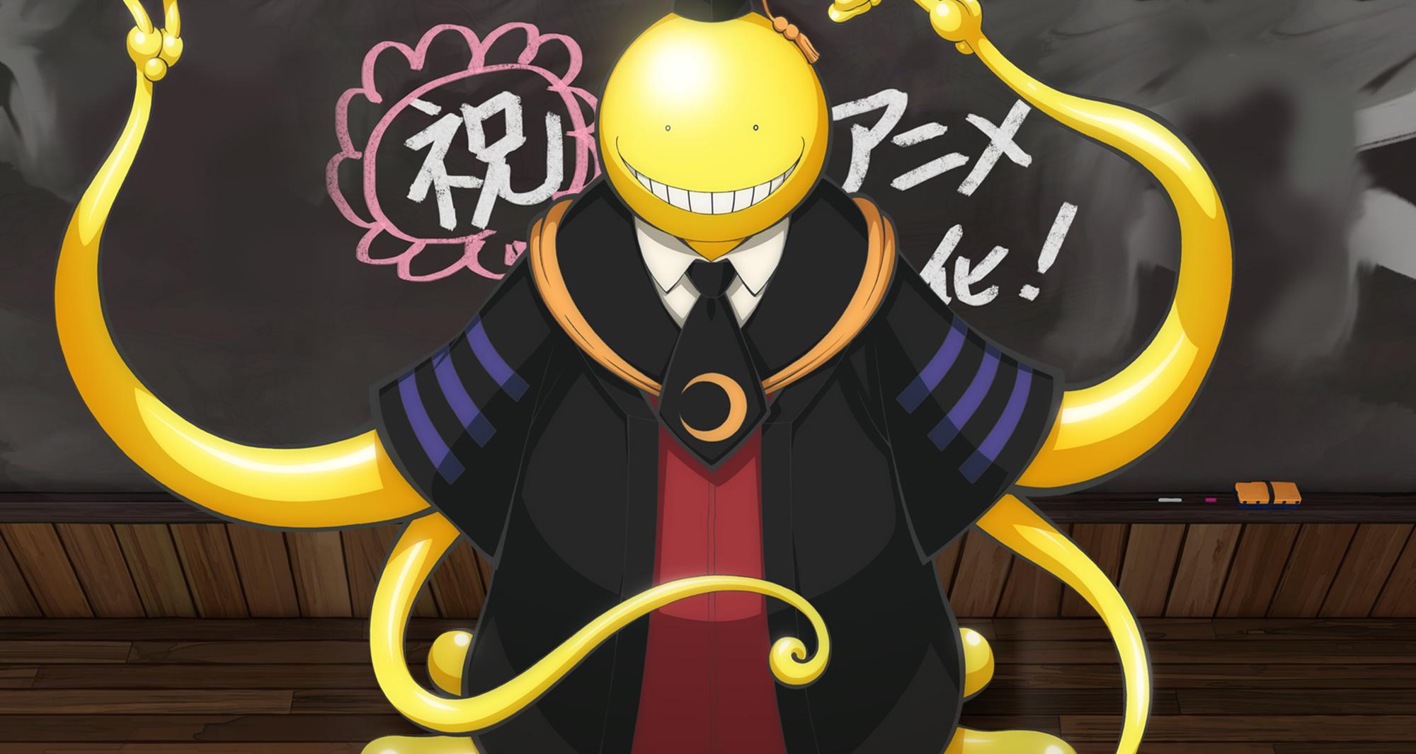 Image result for koro sensei