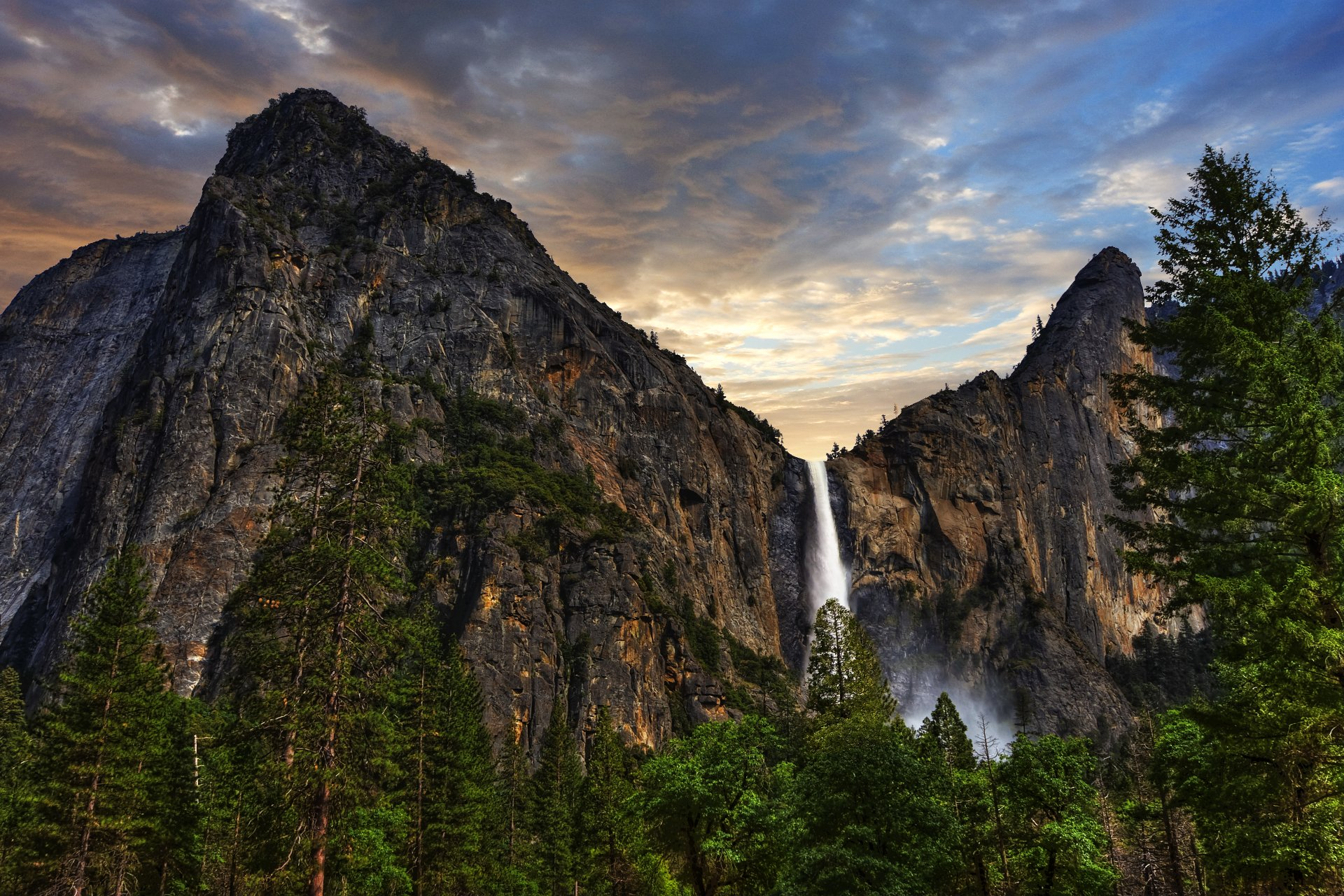 Bridalveil fall 8k ultra hd wallpaper background image - Yosemite national park hd wallpaper ...