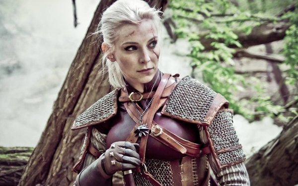 Women Cosplay The Witcher 3: Wild Hunt HD Wallpaper   Background Image