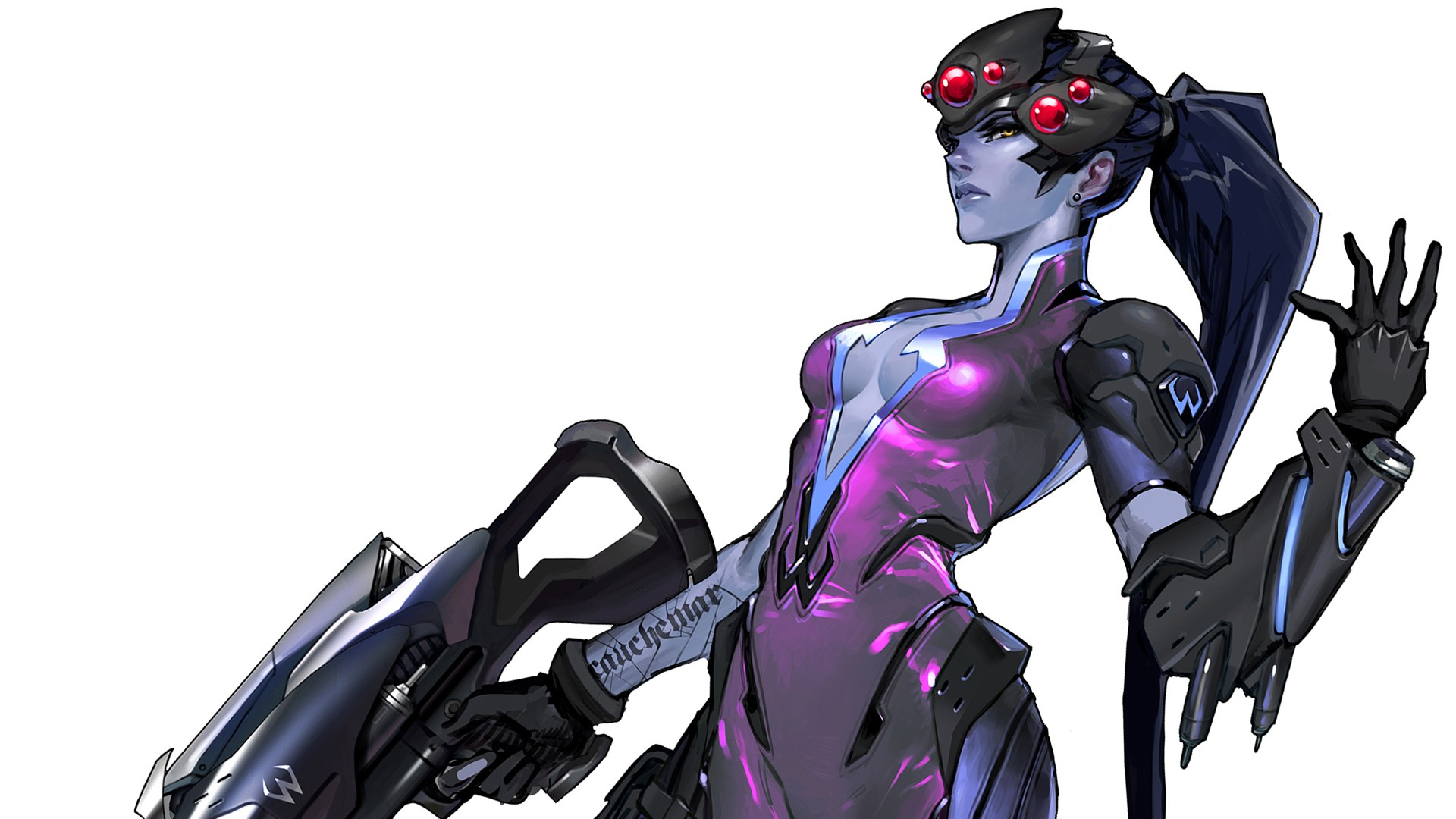 widowmaker overwatch wallpaper 1920x1080 - photo #15