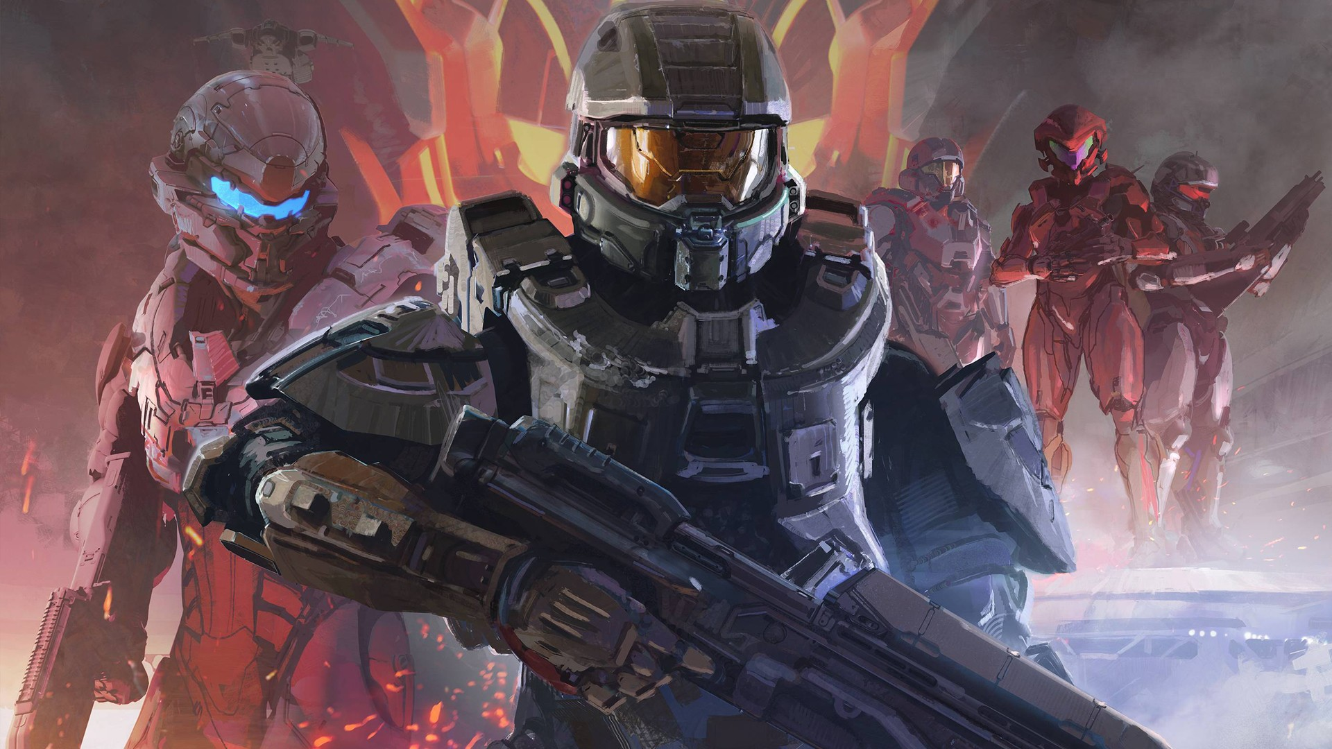 Halo 5: Guardians HD Wallpaper   Background Image   1920x1080   ID:602000 - Wallpaper Abyss