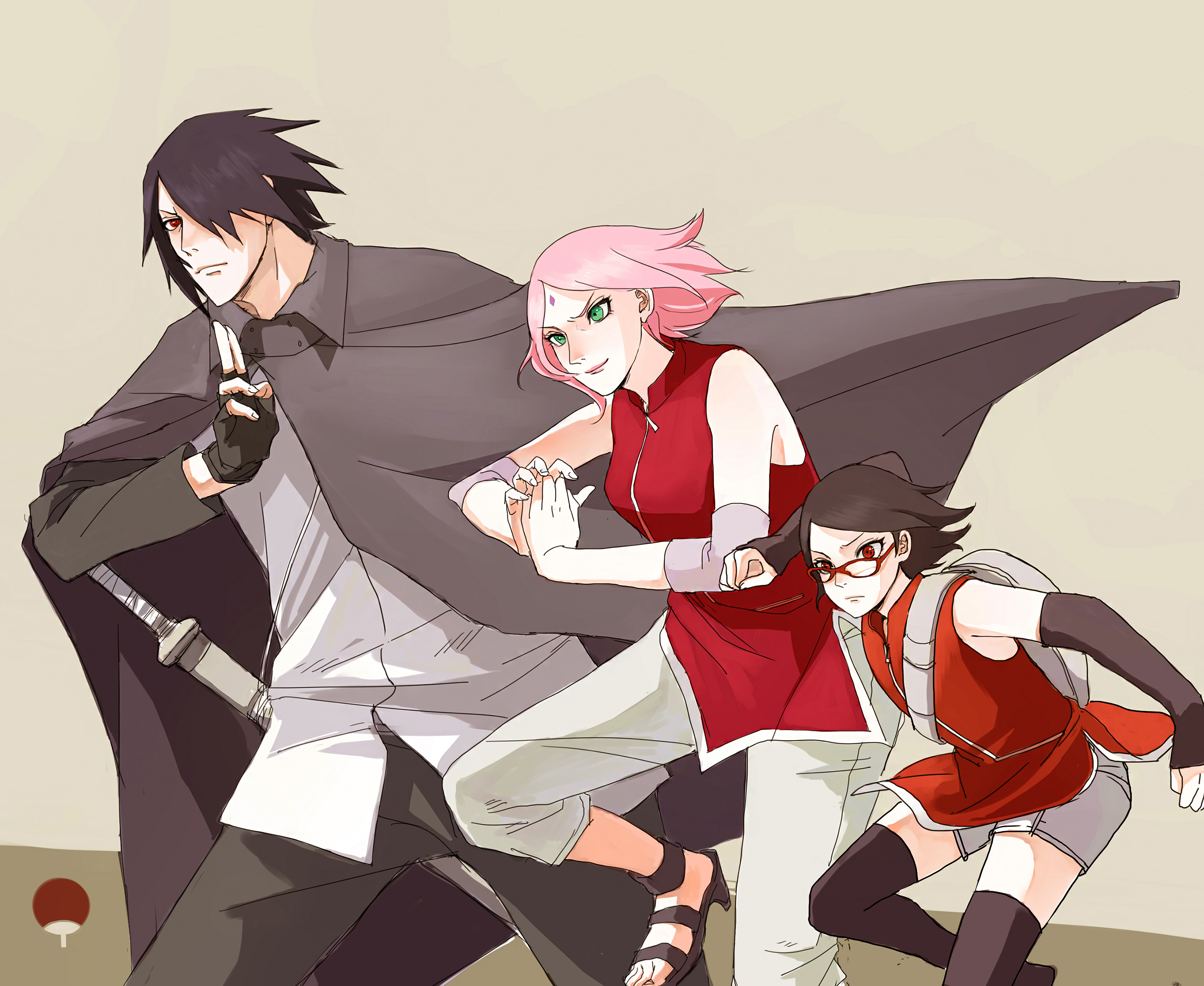 Sasuke's family 2 Full HD Wallpaper and Background Image ...
