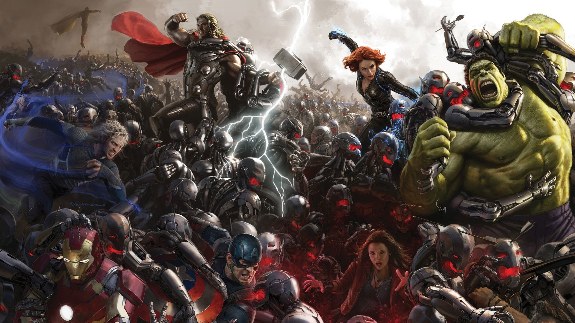 Movie - Avengers: Age of Ultron  Wallpaper