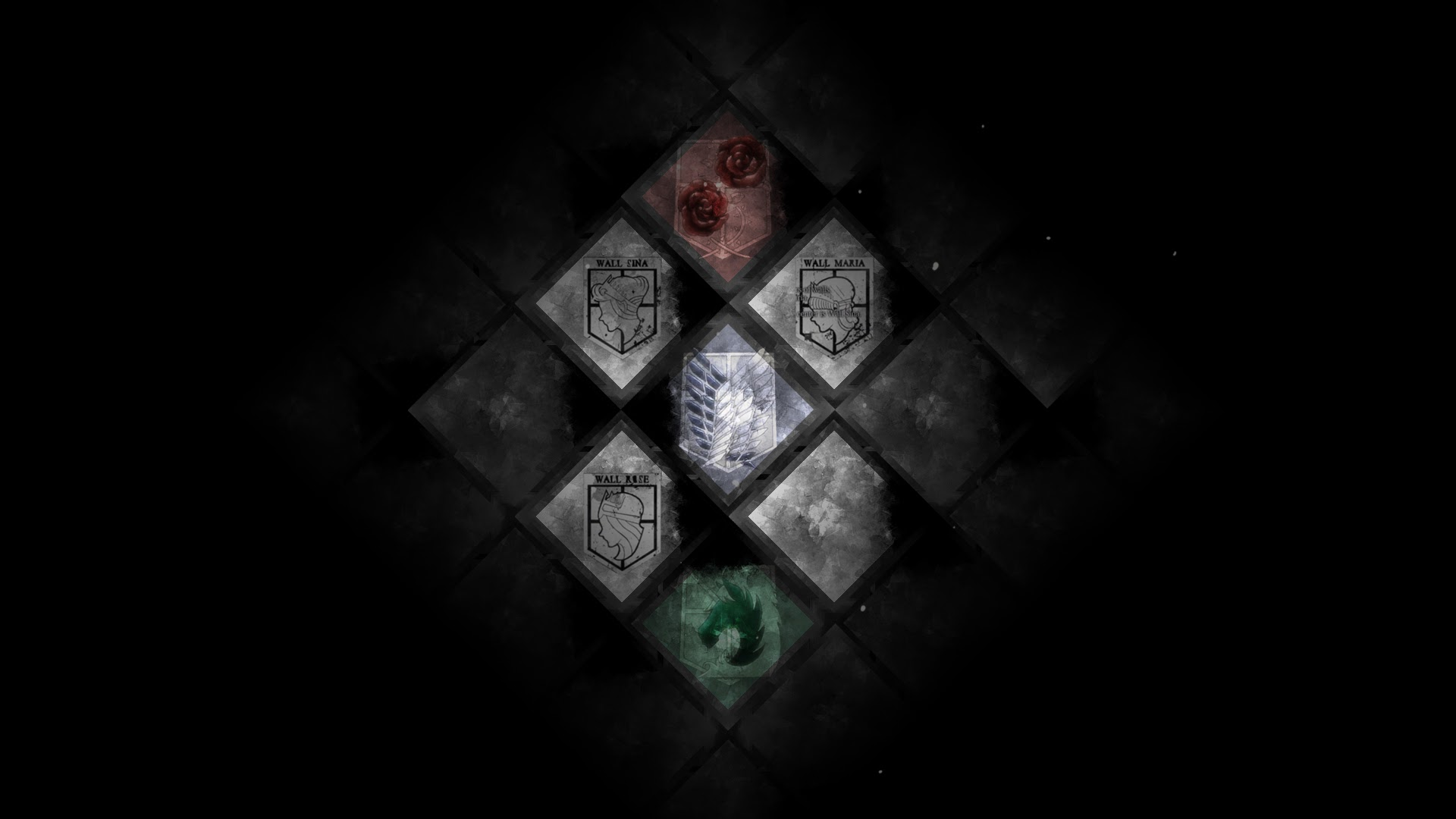 Attack on titan: emblem HD Wallpaper   Background Image ...   1920 x 1080 jpeg 113kB
