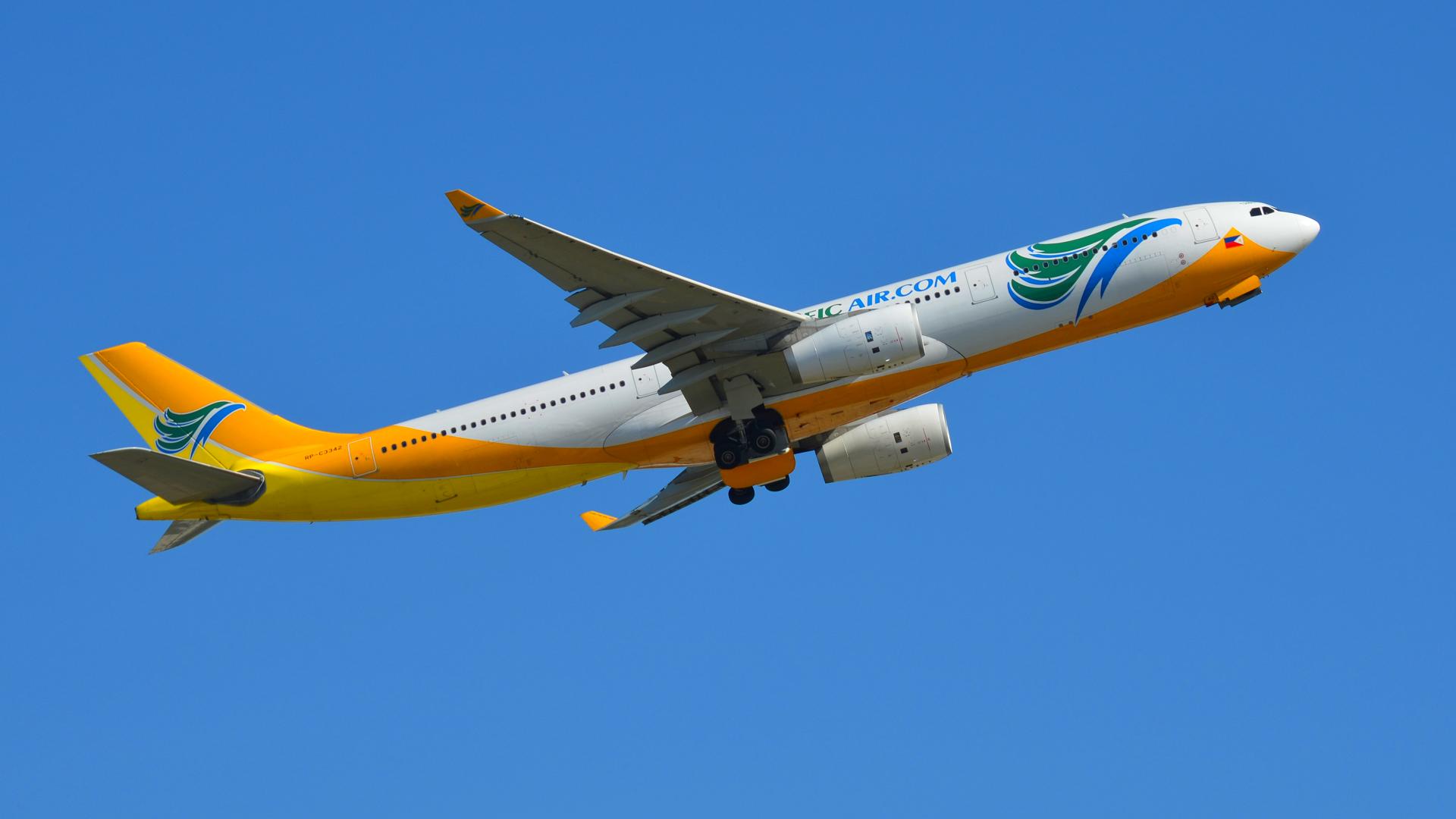 RP-C3342 CEBU Pacific Air Airbus A330-343 Full HD ...