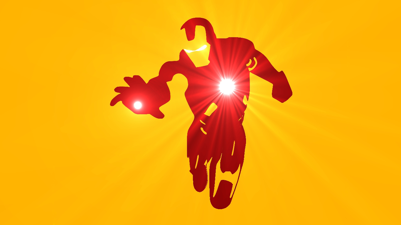 Iron man wallpaper and background image 1366x768 id - Iron man wallpaper cartoon ...