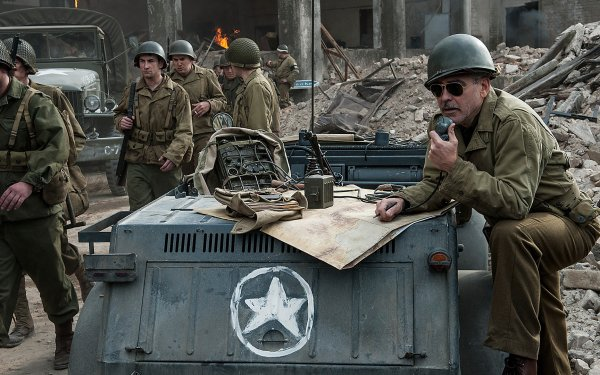 Movie The Monuments Men George Clooney HD Wallpaper | Background Image