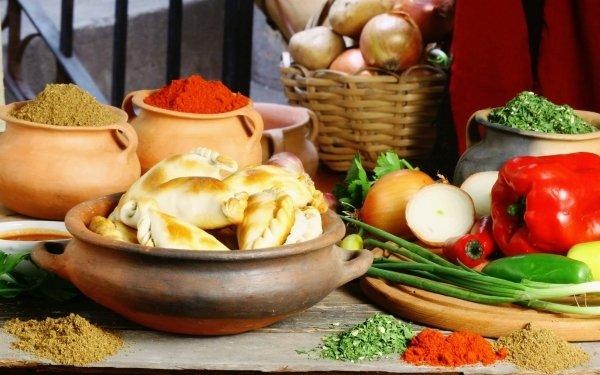 Food Vegetables Vegetable Spices Bread HD Wallpaper | Background Image