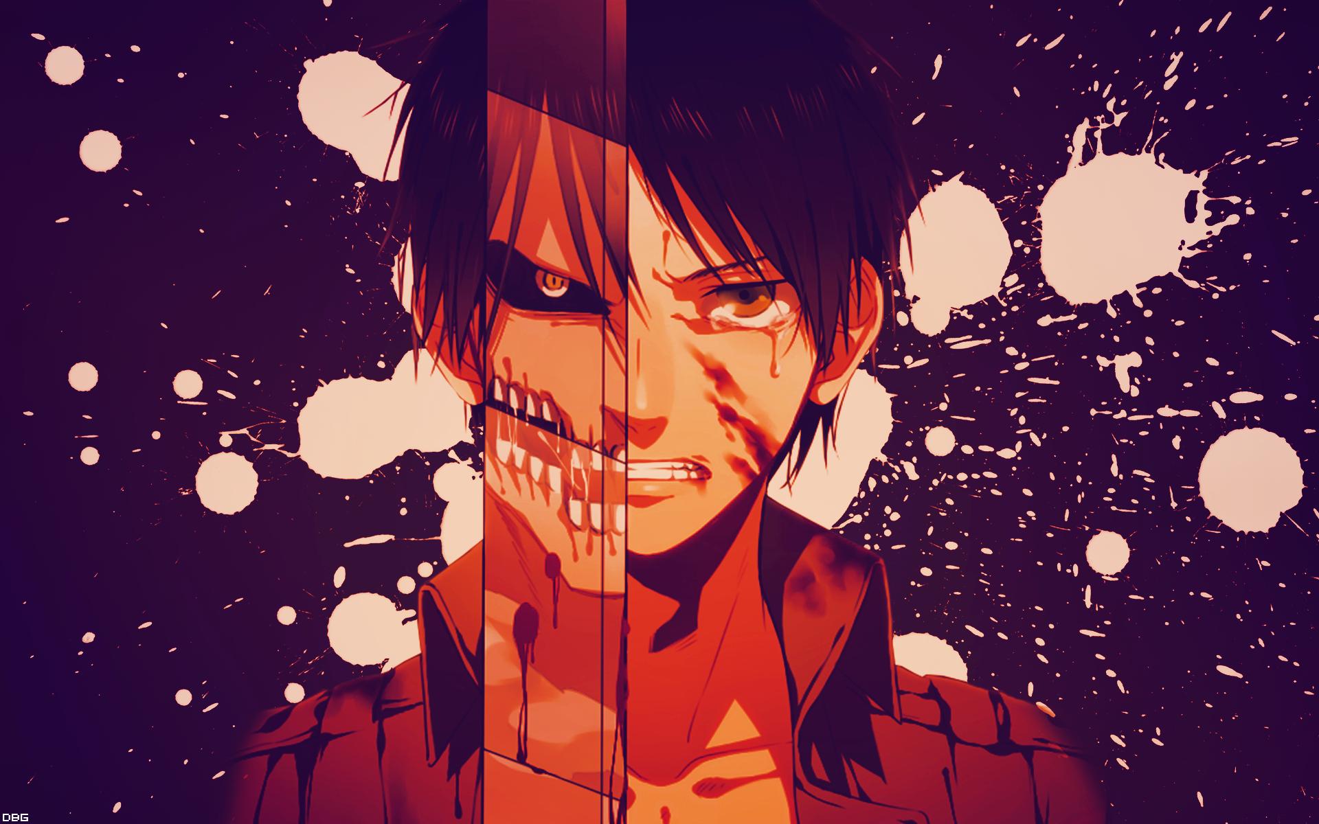 Shingeki No Kyojin - Eren/Titan HD Wallpaper