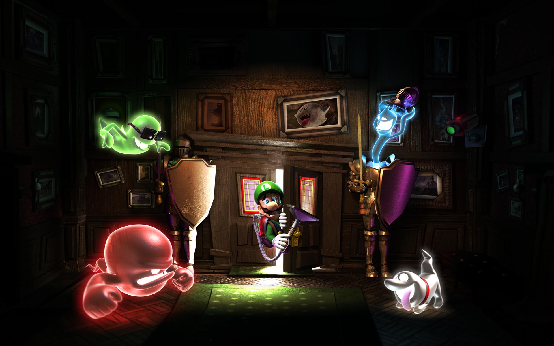 HD Wallpaper | Background Image ID:607436. 1920x1200 Video Game Luigi's Mansion