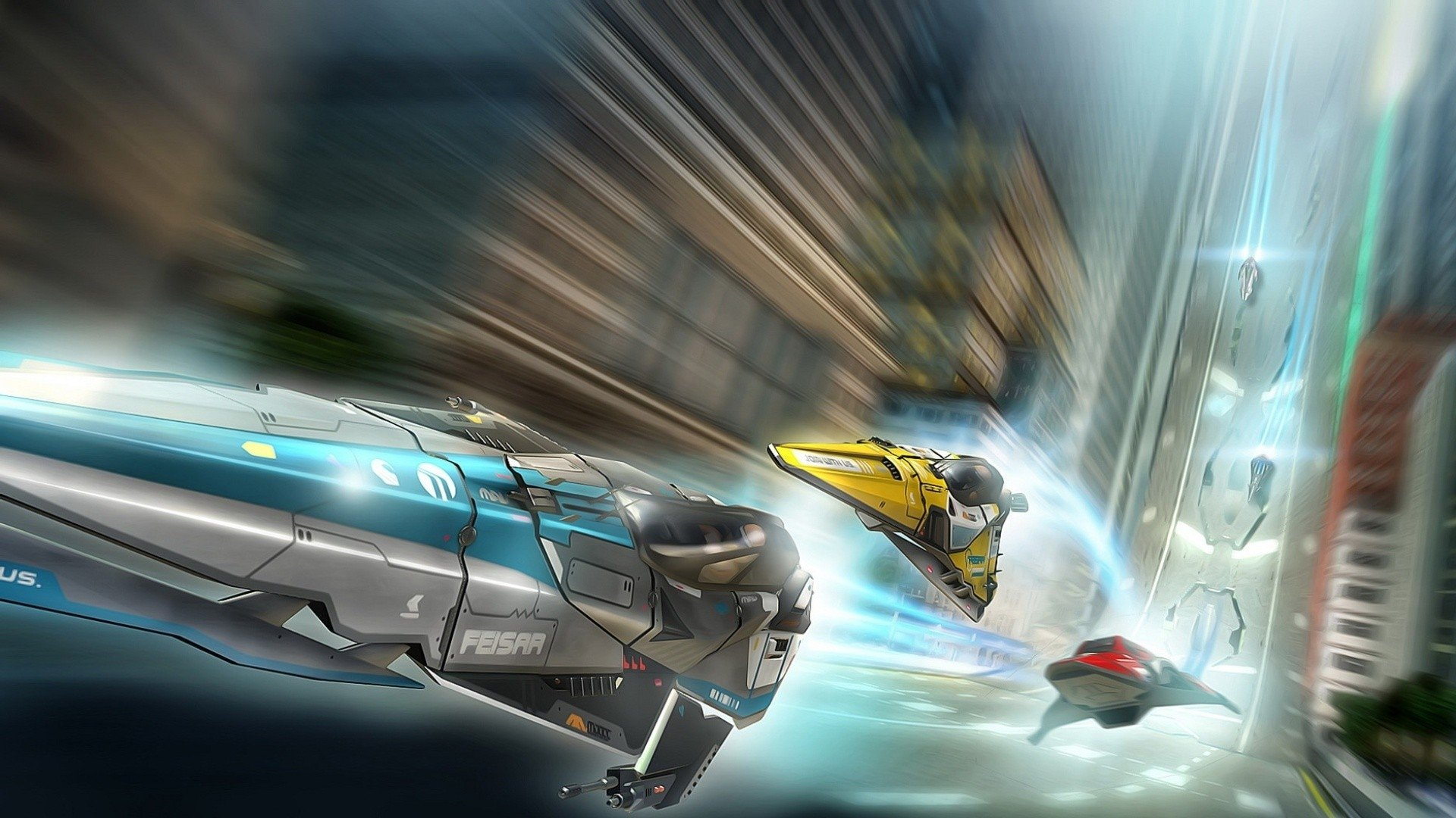 Video Game - Wipeout 2048  Wallpaper
