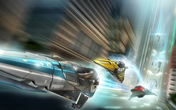 Video Game Wipeout 2048 Wipeout HD Wallpaper | Background Image