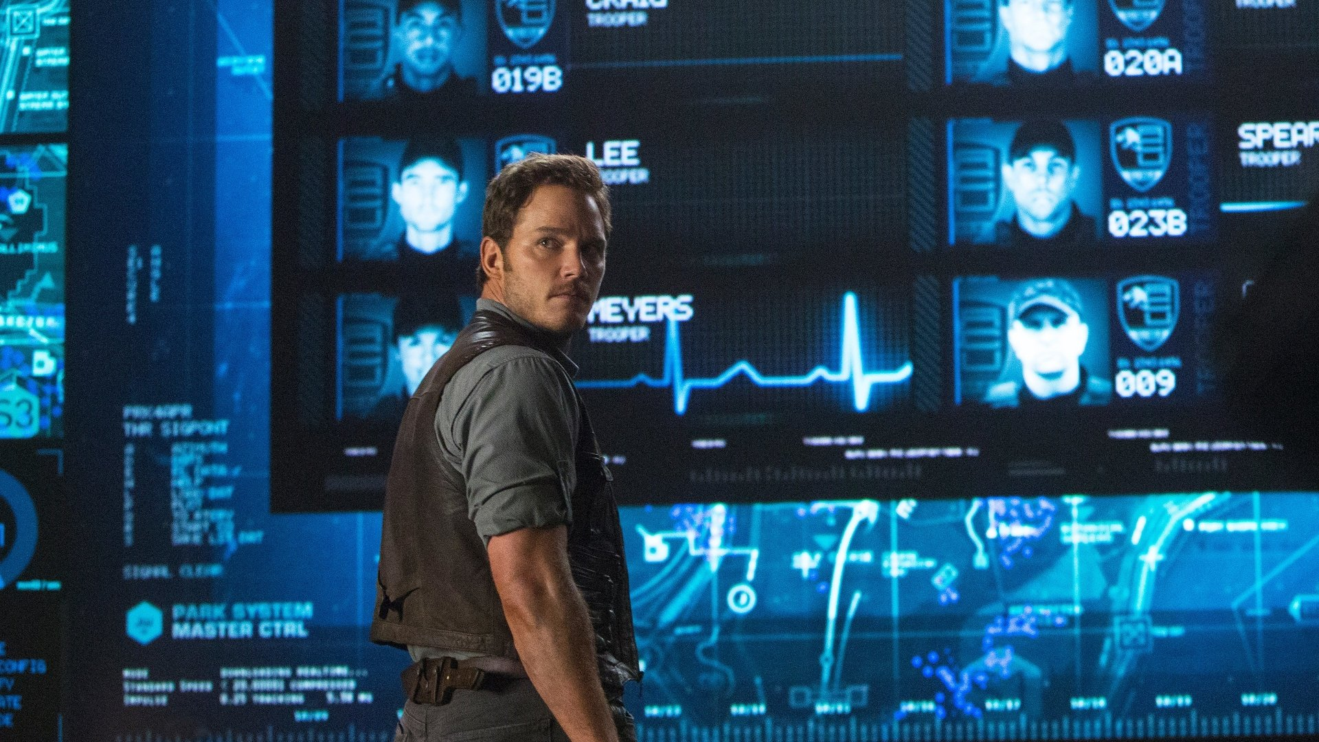 Movie - Jurassic World  Chris Pratt Wallpaper