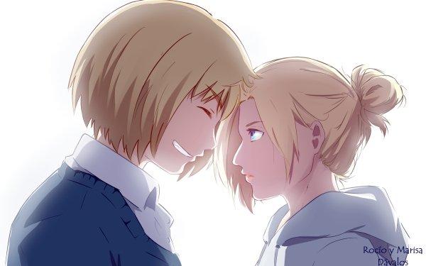 Anime Attack On Titan Armin Arlert Annie Leonhart HD Wallpaper   Background Image
