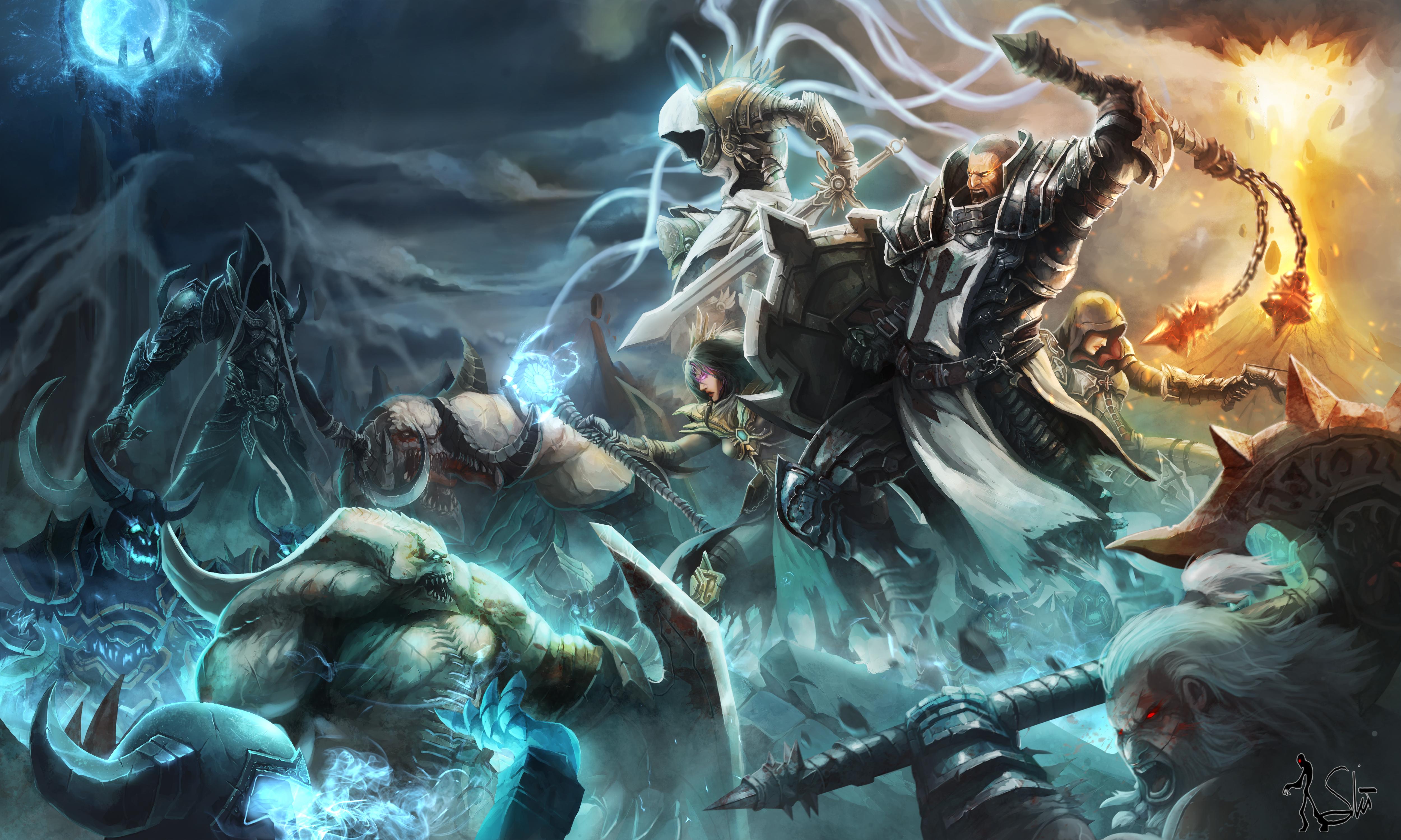 diablo 3 reaper of souls wallpaper full hd