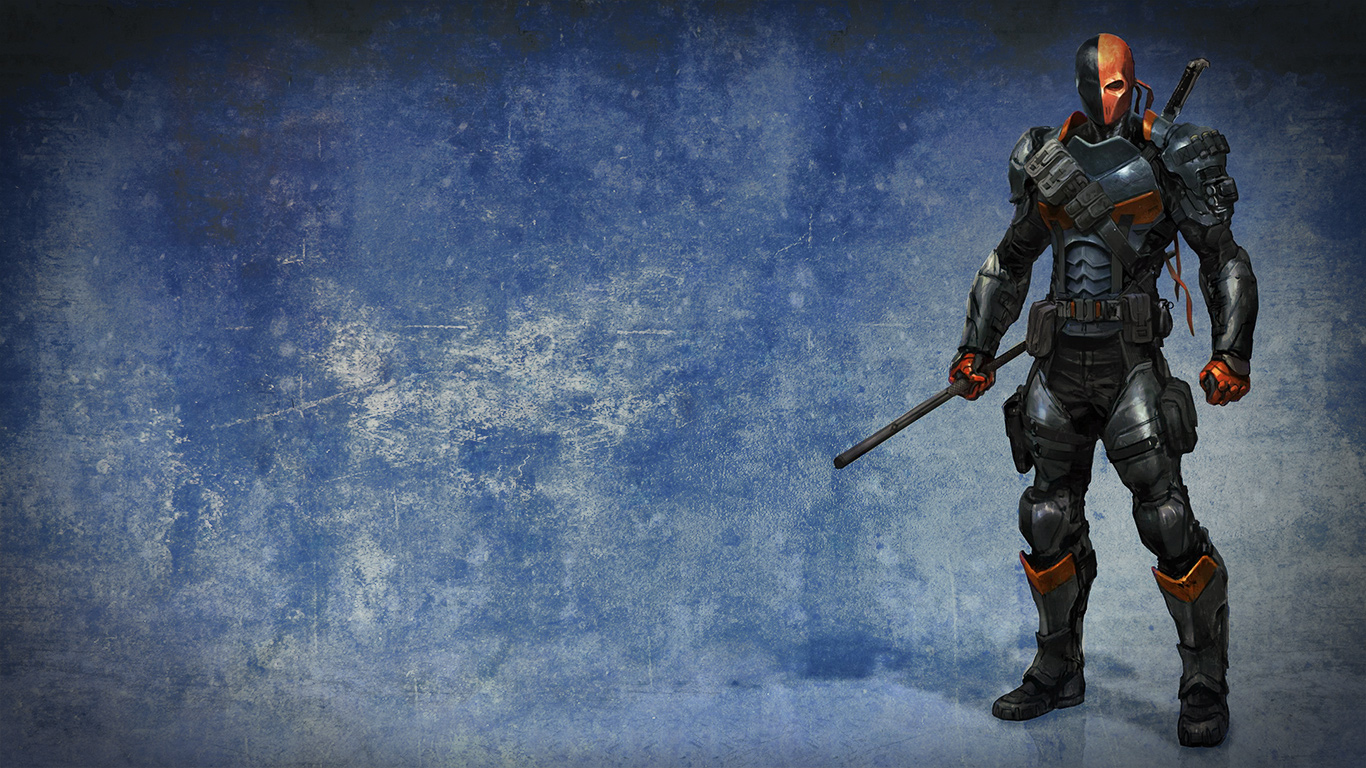 deathstroke wallpaper and background image 1366x768 id