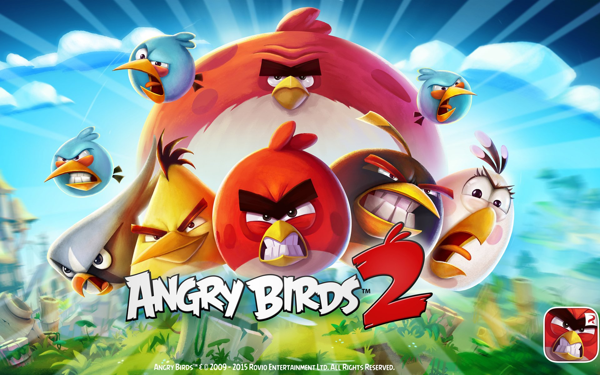 2 angry birds 2 hd wallpapers | background images - wallpaper abyss