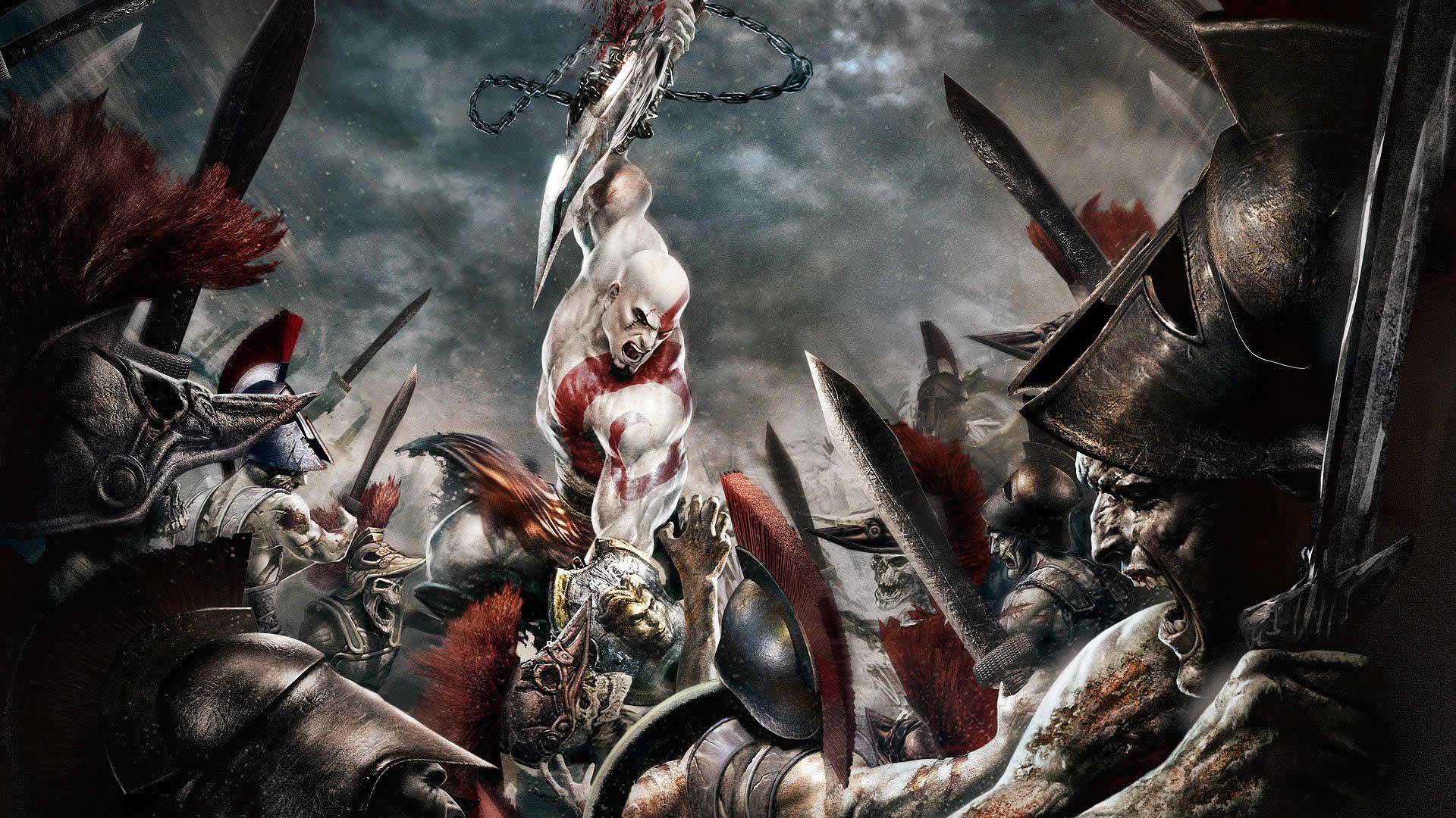 Video Game - God Of War  Ghost Kratos War God Wallpaper