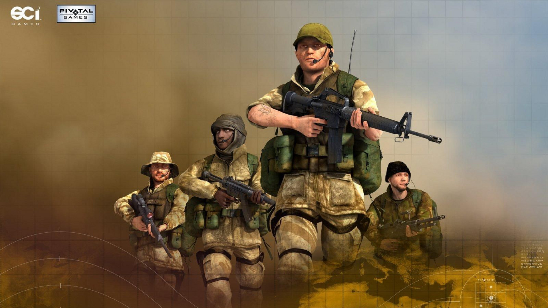 conflict: desert storm ii: back to baghdad hd wallpaper | background