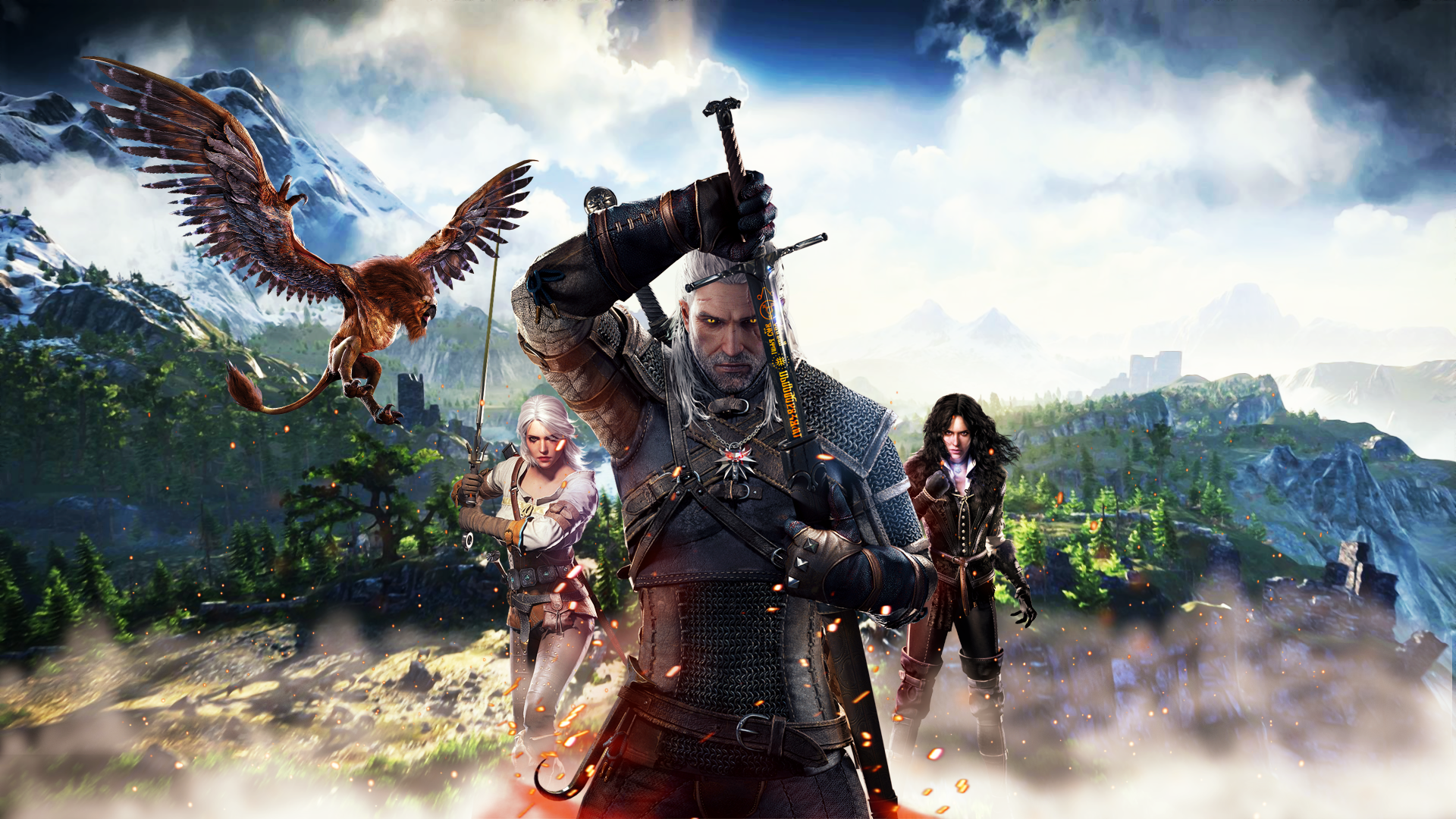 586 the witcher 3: wild hunt hd wallpapers | background images