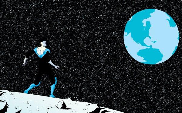 Comics Invincible Image Comics Earth Space Mark Grayson HD Wallpaper | Background Image