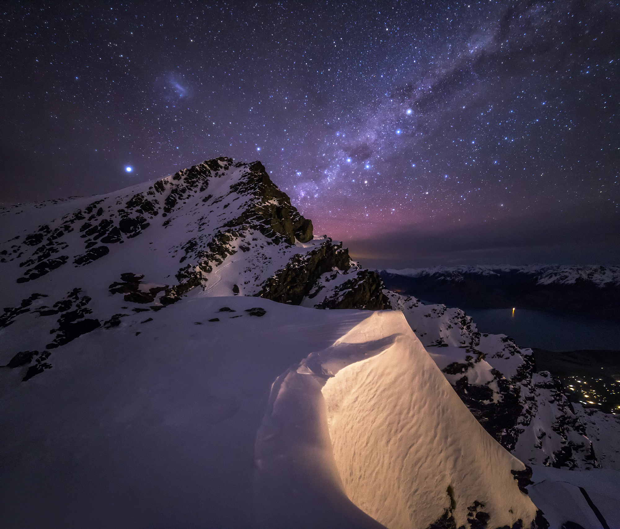 Milky Way Wallpaper: On The Edge Of Milky Way HD Wallpaper
