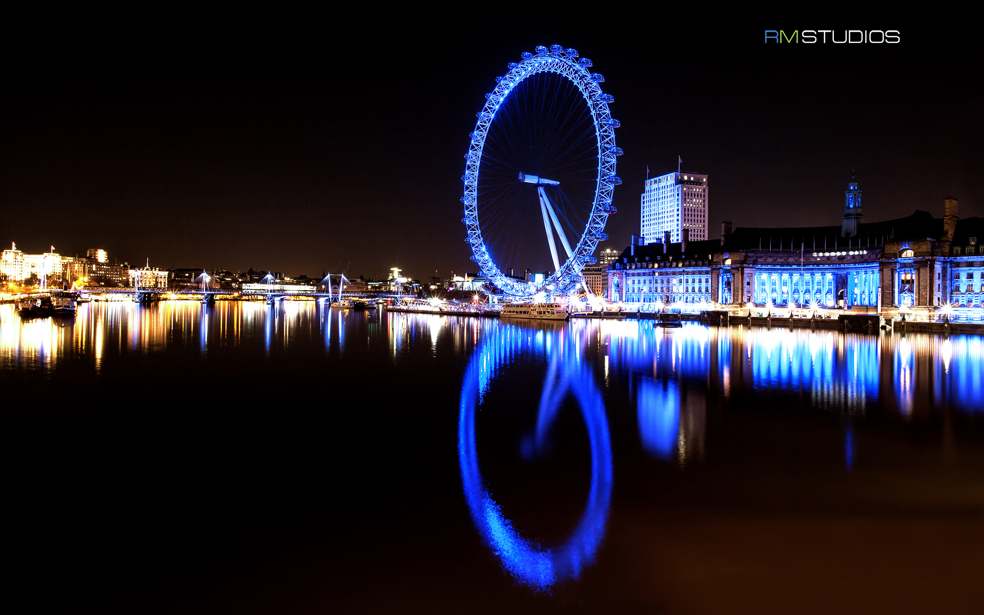 london eye full hd wallpaper and background image | 1920x1200 | id