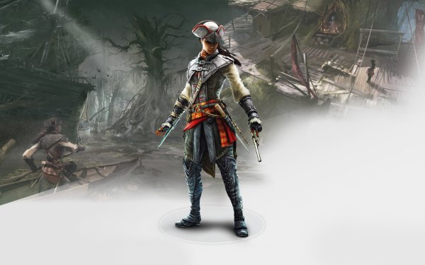 Video Game Assassin's Creed III: Liberation Assassin's Creed Aveline de Grandpré HD Wallpaper | Background Image