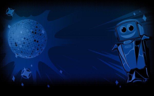 Video Game Robot Roller-Derby Disco Dodgeball HD Wallpaper   Background Image
