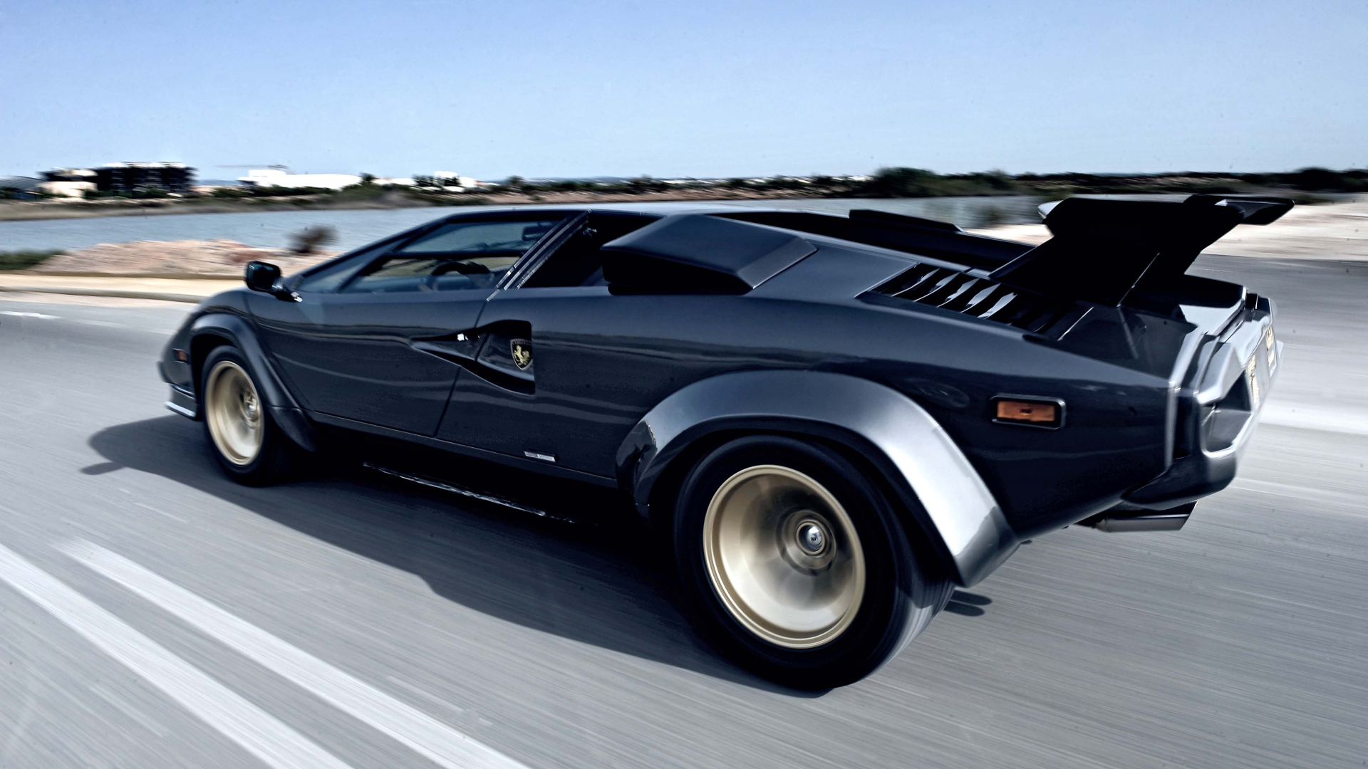 Lamborghini Countach Hd Wallpaper Background Image 1920x1080
