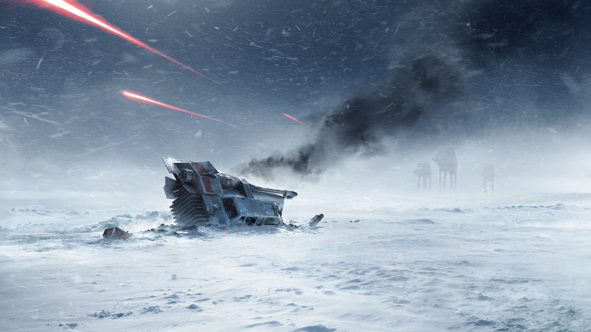 Immerse yourself in your STAR WARS™ battle fantasies. Feeling the ominous  thud of an AT-AT stomping down on the frozen tundra of Hoth. Rebel forces firing ...
