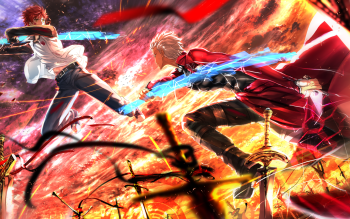 Archer Fate Stay Night Shirou Emiya HD Wallpaper
