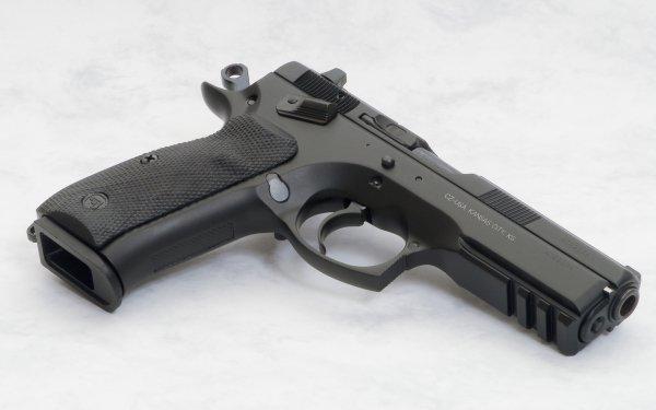 Weapons Cz 75 Sp01 Pistol HD Wallpaper | Background Image