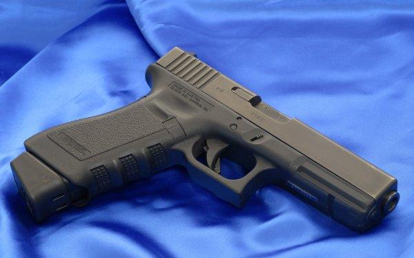 Weapons Glock Pistol HD Wallpaper | Background Image