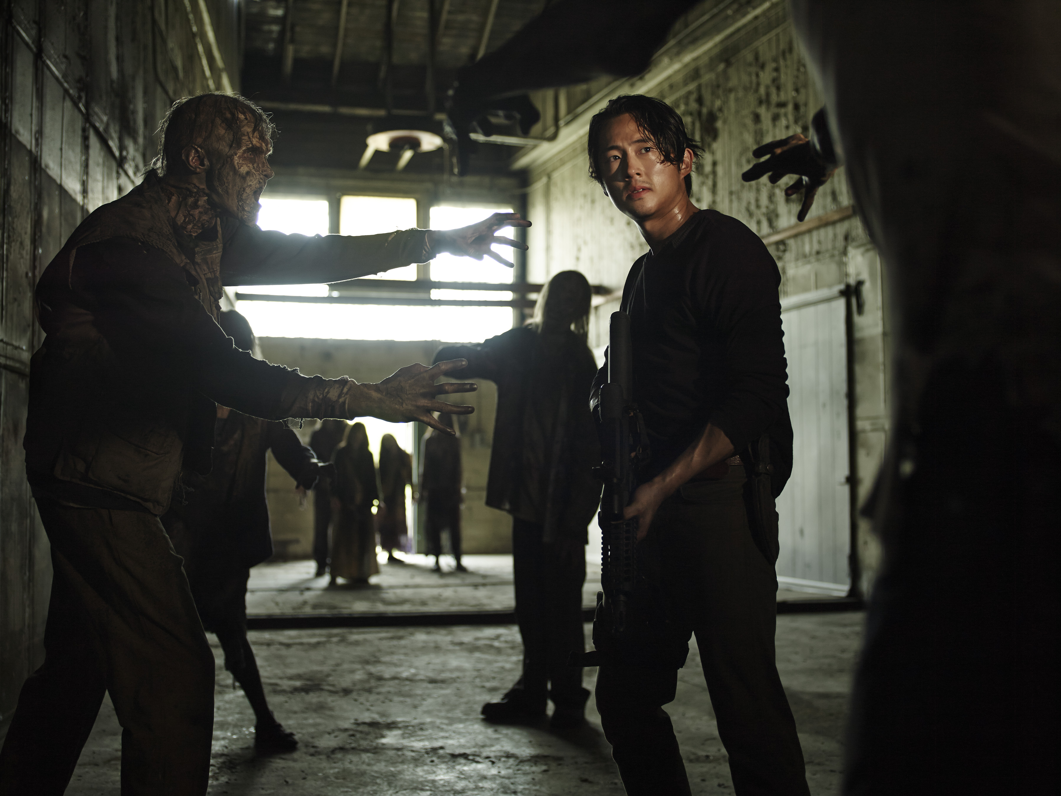 The Walking Dead Season 5 Glenn Hd Wallpaper Background Image