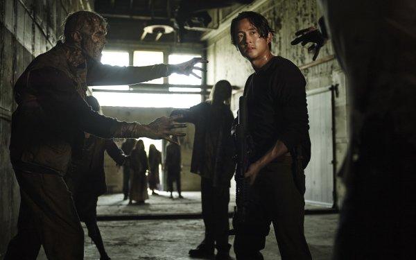 TV Show The Walking Dead Glenn Rhee Zombie Steven Yeun HD Wallpaper | Background Image