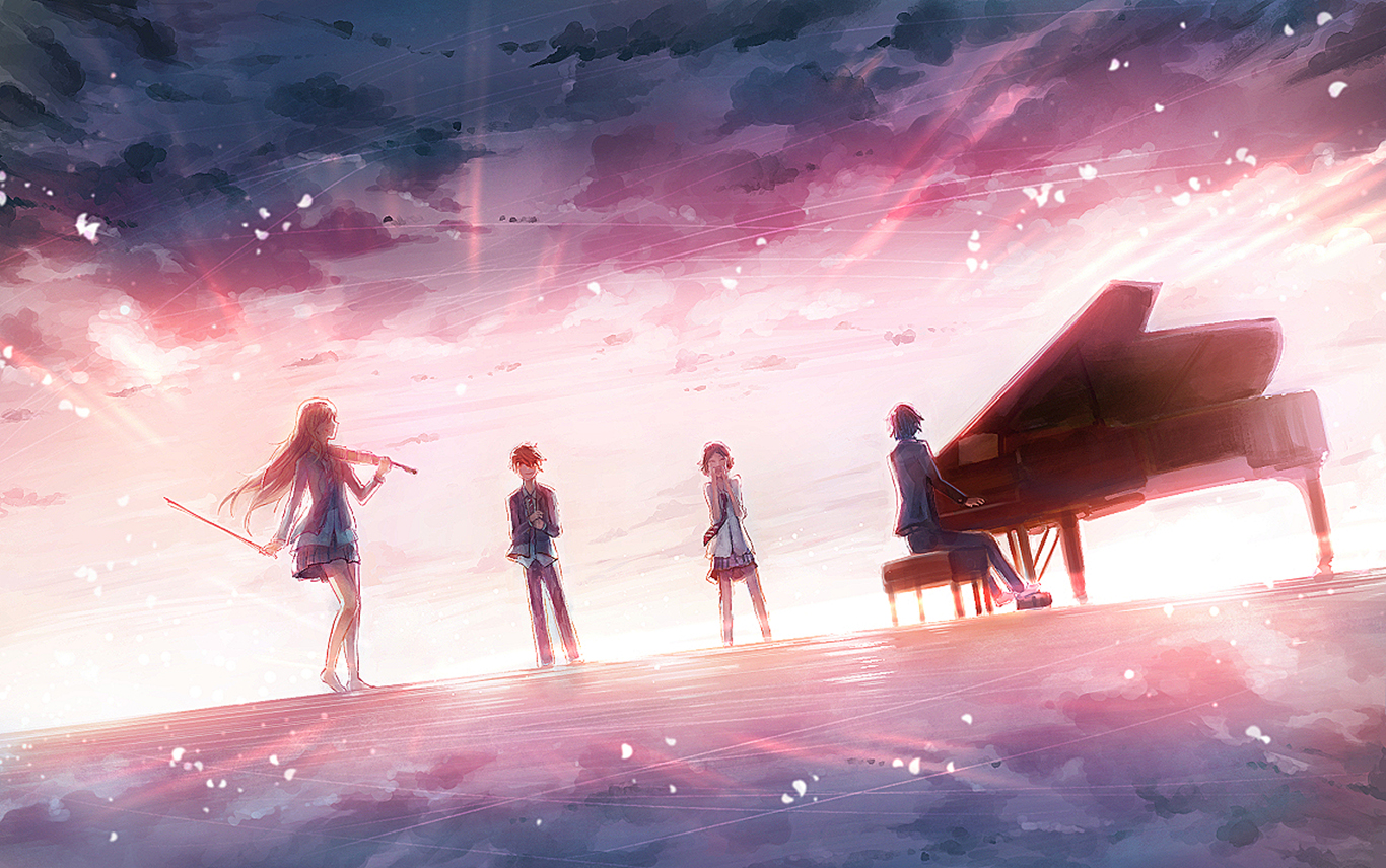 151 Your Lie In April HD Wallpapers | Backgrounds ...