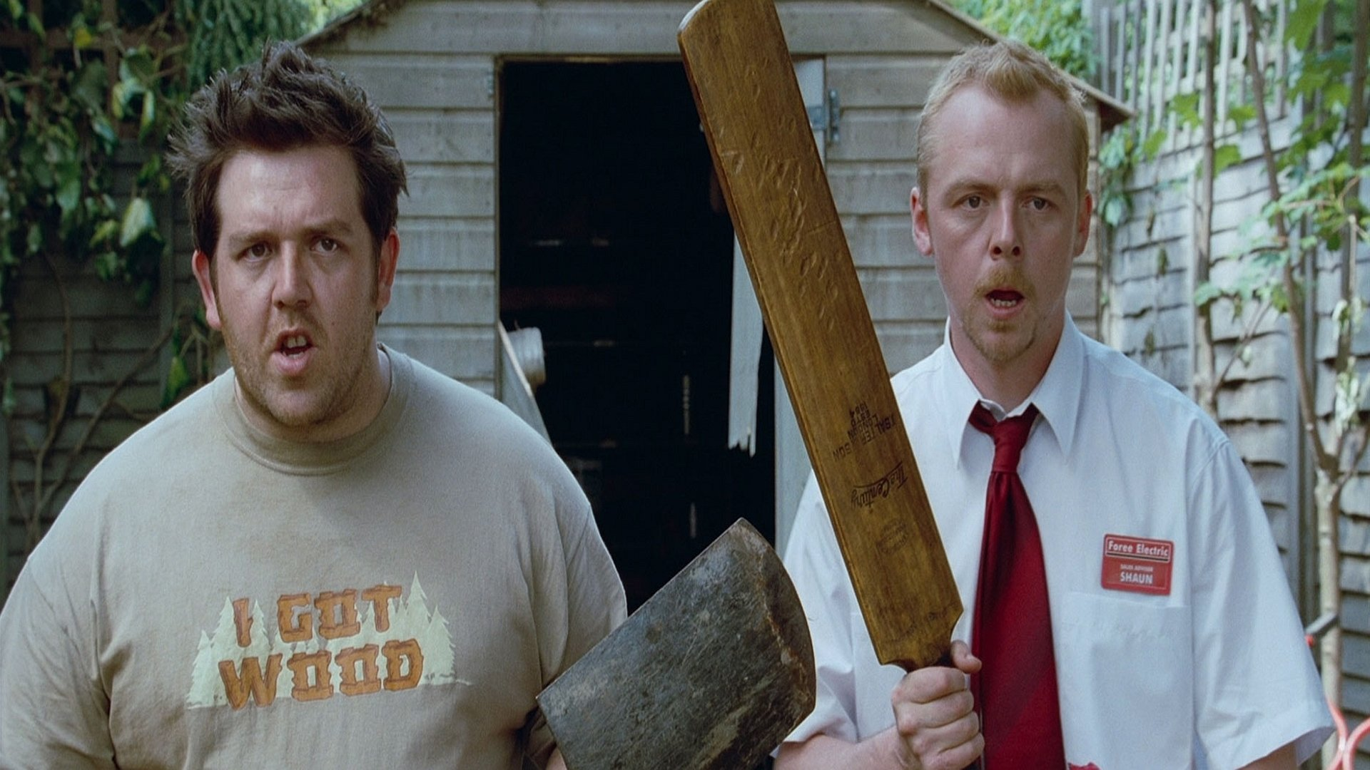 shaun of the dead full hd wallpaper and background