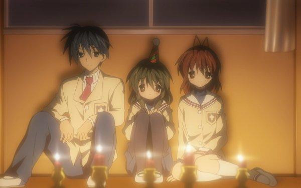 Anime Clannad Nagisa Furukawa Fuuko Ibuki Tomoya Okazaki HD Wallpaper   Background Image