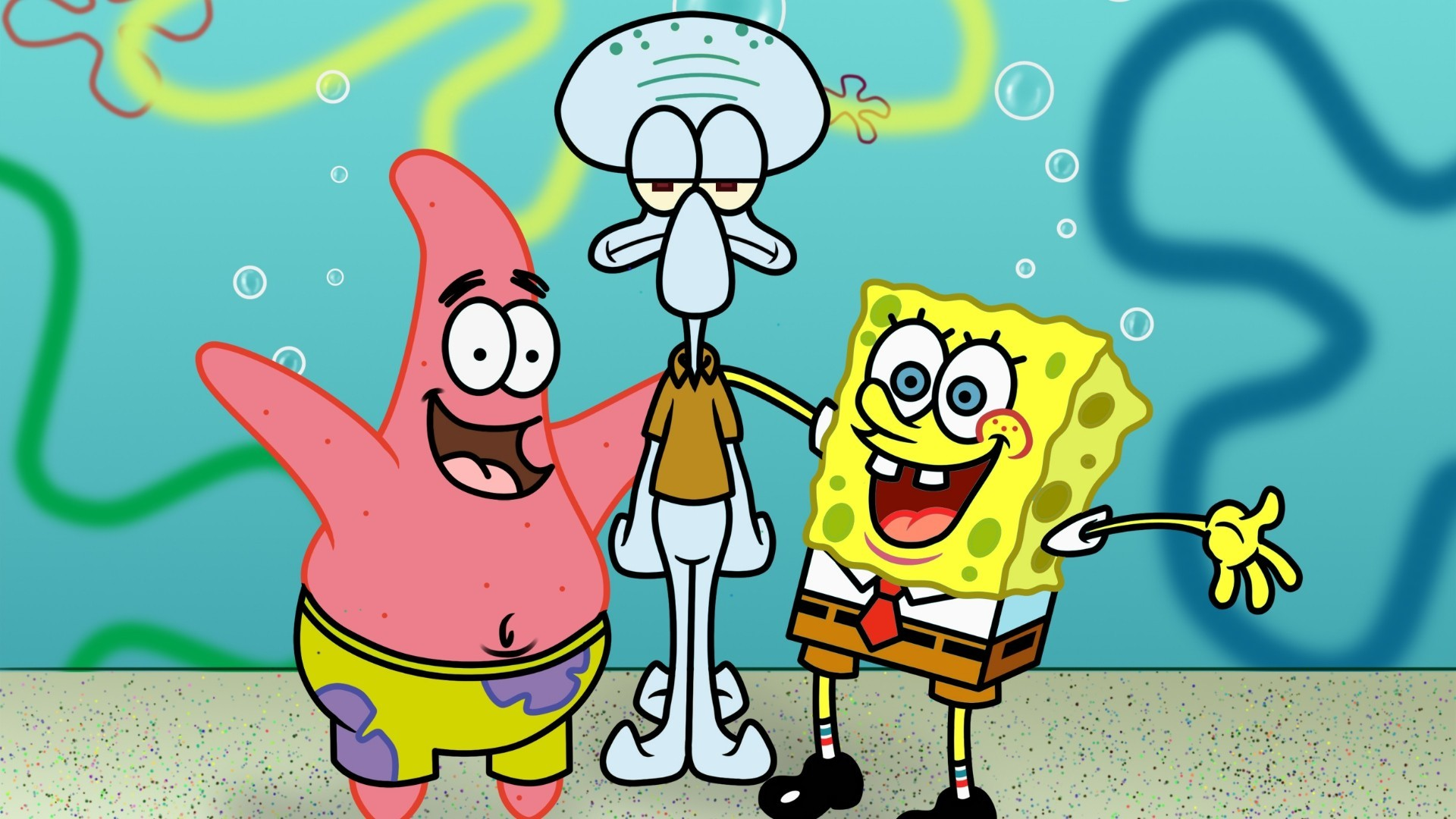 spongebob squarepants full hd wallpaper and background 1920x1080