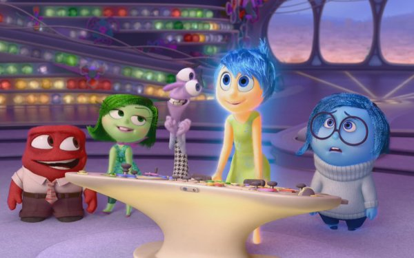 Movie Inside Out Anger Disgust Fear Joy Sadness HD Wallpaper | Background Image