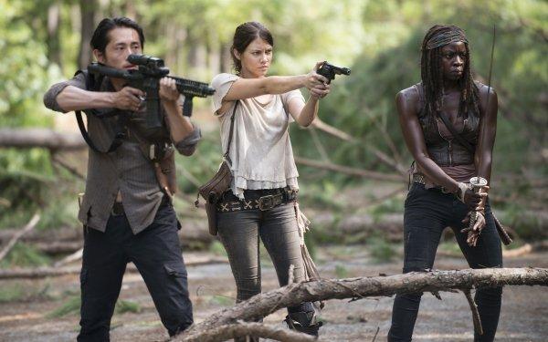 TV Show The Walking Dead Steven Yeun Glenn Rhee Danai Gurira Michonne Lauren Cohan Maggie Greene HD Wallpaper | Background Image