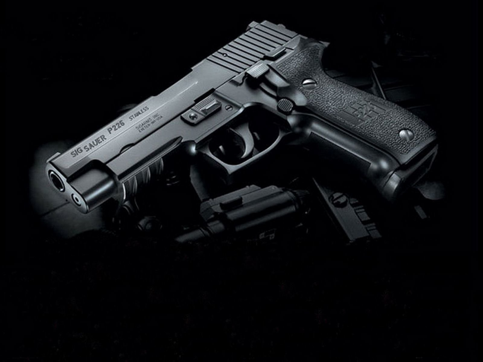 Wallpaper Pistols Sig Sauer P226 Army: Sig Sauer P226 Wallpaper And Background Image