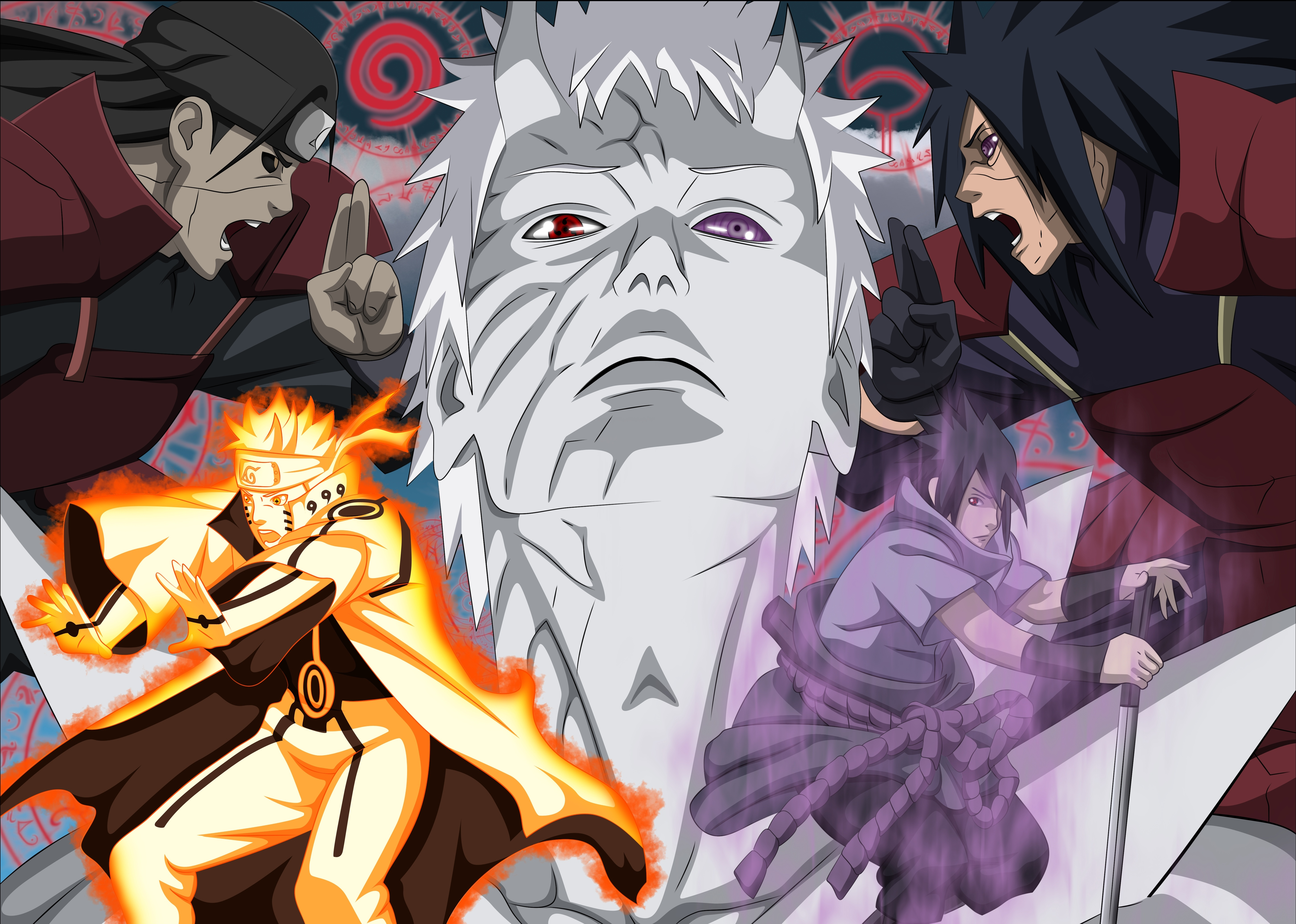 612 4K Ultra HD Naruto Wallpapers