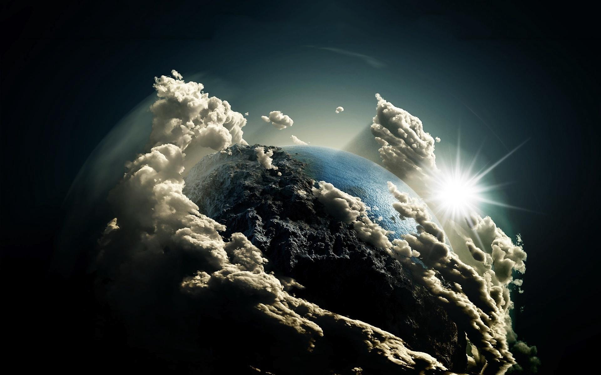 Planet Earth Fond D Ecran Hd Arriere Plan 1920x1200 Id