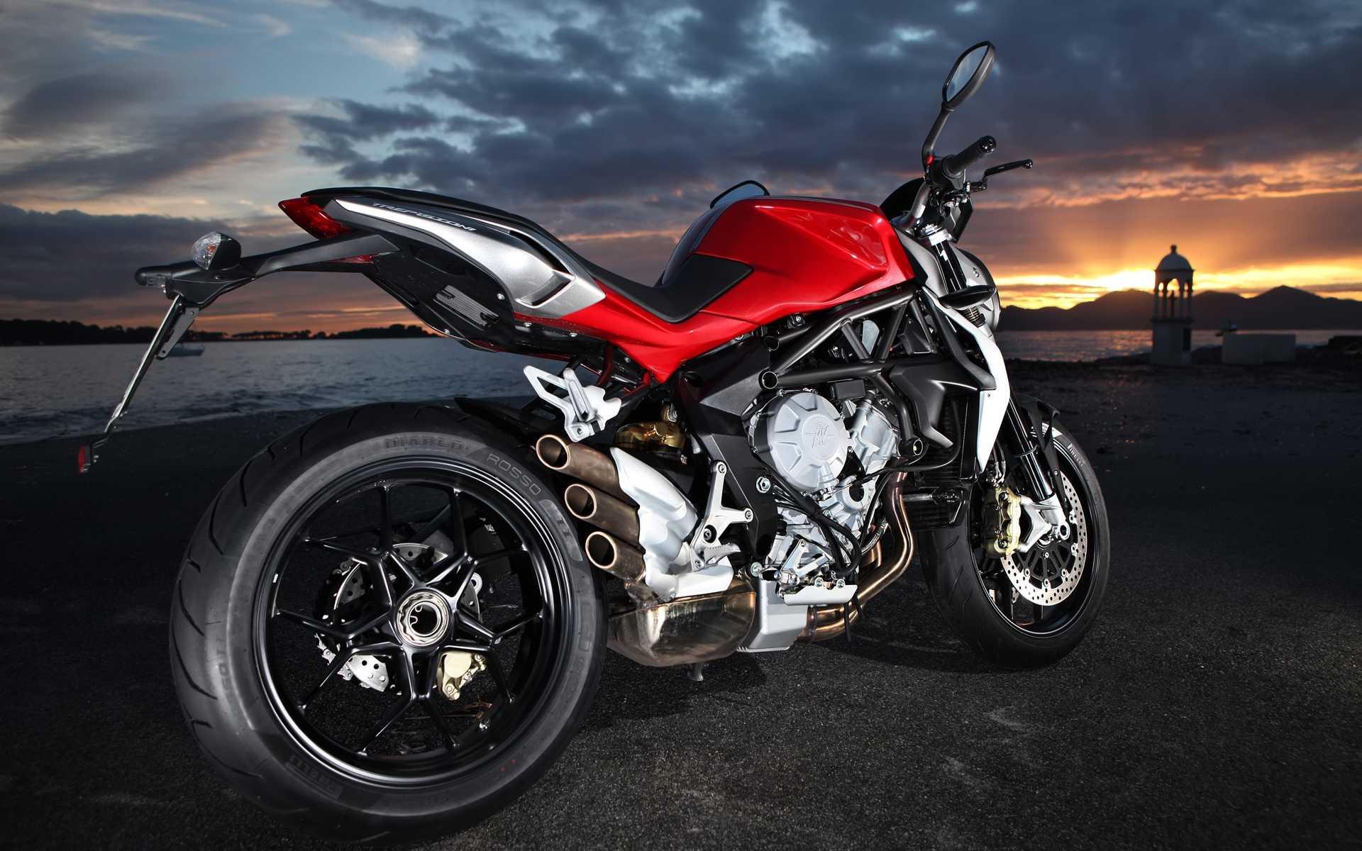 MV Agusta Brutale HD Wallpaper